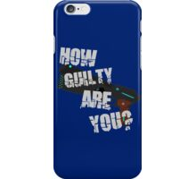 How Guilty Are You? iPhone Case/Skin