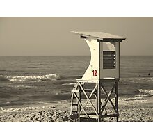 Lifeguard on Duty? Photographic Print