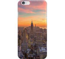 New York sunset iPhone Case/Skin