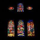 Stained Glass Window, Malaga by wiggyofipswich
