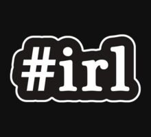 IRL - Hashtag - Black & White T-Shirt