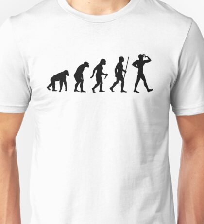 The Evolution of the Crow - Fight Milk! Unisex T-Shirt