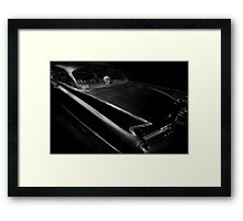 Skull Ride Framed Print