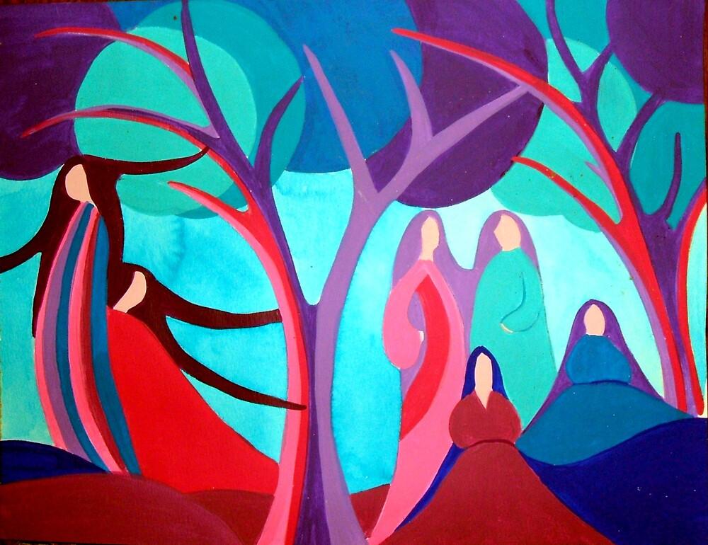 Woodland Women by Jamie Winter-Schira