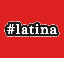Latina - Hashtag - Black & White Kids Clothes