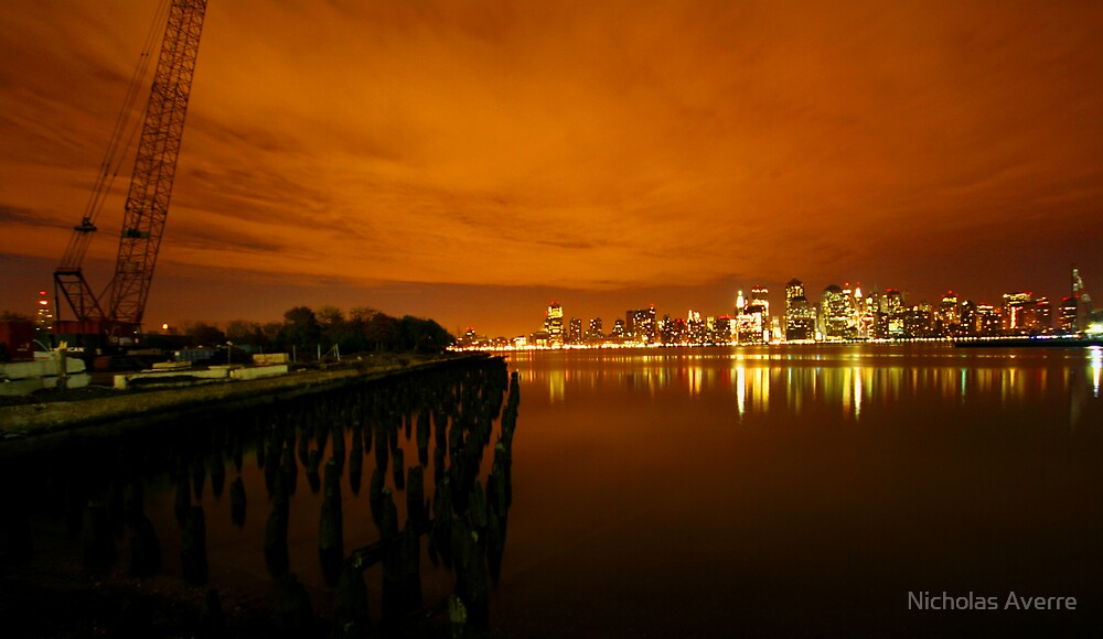 Across the Hudson  by Nicholas Averre