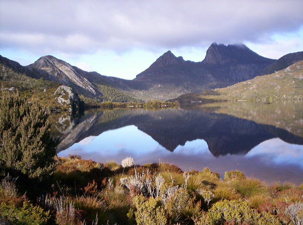 Cradle Mountain, Tasmania,  on a dull day by gaylene