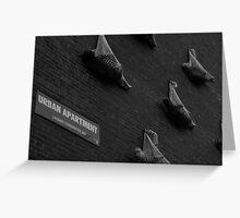Urban Apartments Greeting Card
