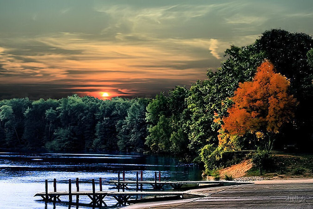 Sunset Docks by shellyb