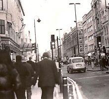 Oxford Street, London by rachelphelan