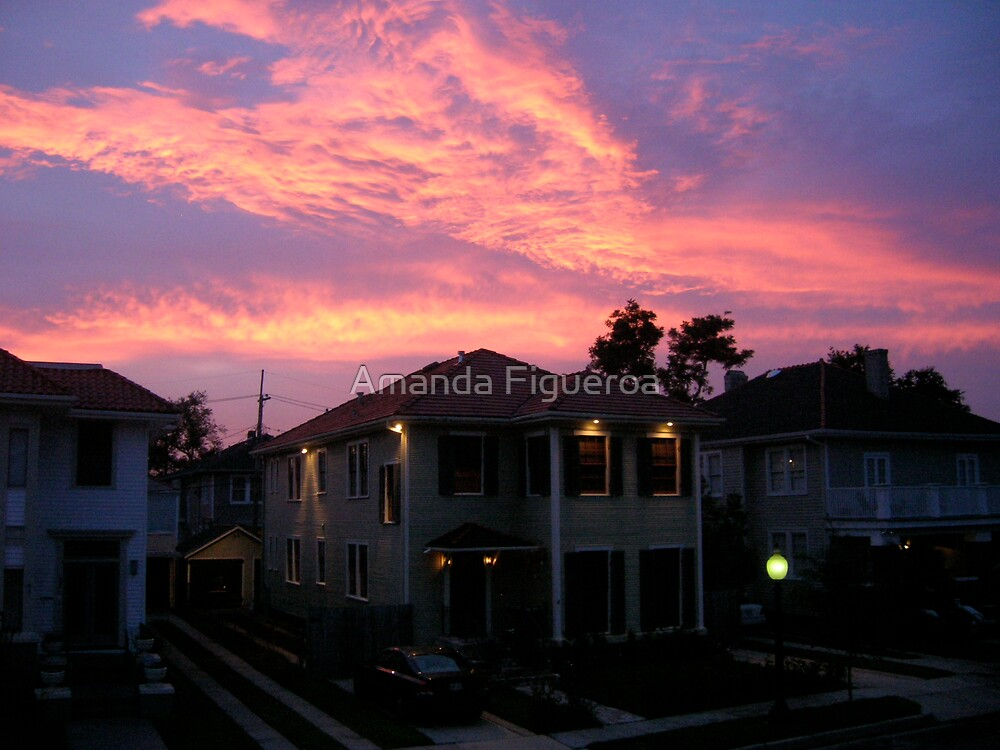 Mid City sunset by Amanda Figueroa