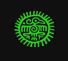 Green Aztec bird Unisex T-Shirt