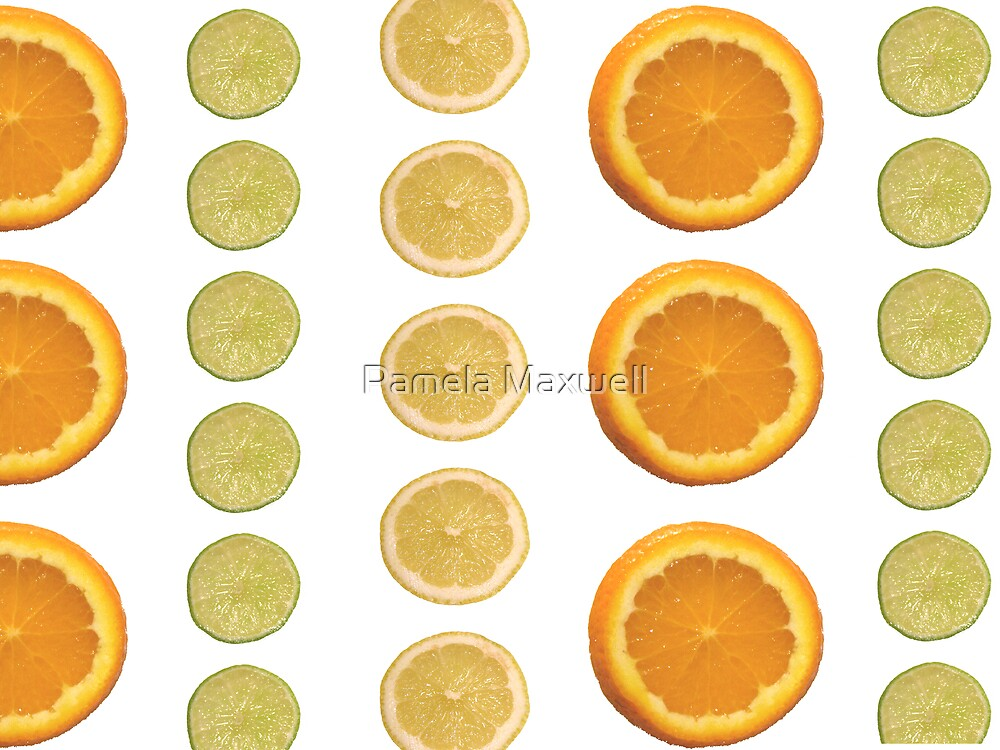 Citrus Bliss by Pamela Maxwell