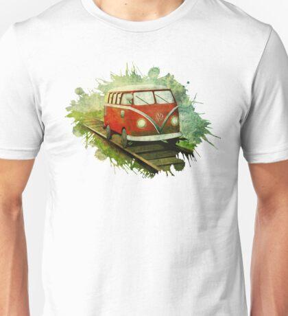 Bulli on tracks Unisex T-Shirt