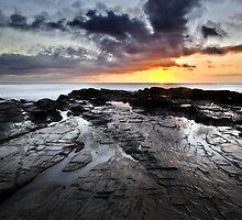 lever de soleil (v) by Roberts Birze