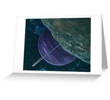 Asteroid Greeting Card