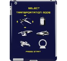Sci-fi Transportation 2 iPad Case/Skin