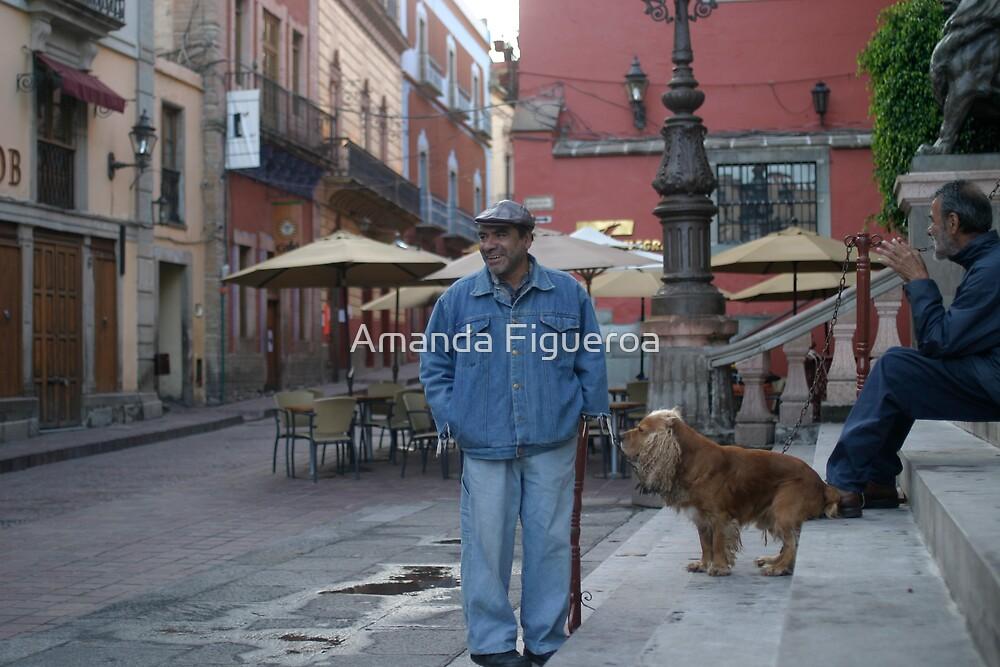 Street dog by Amanda Figueroa