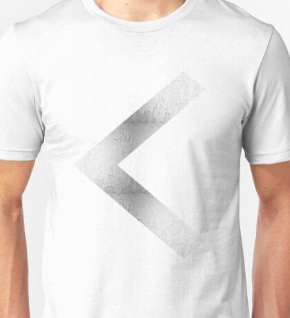 Arrow in Silver Unisex T-Shirt