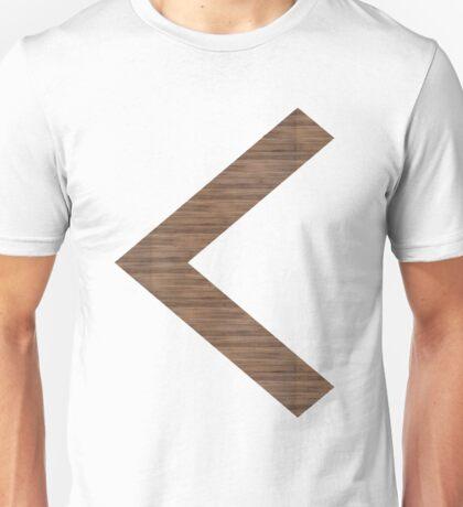 Arrow in Wood Unisex T-Shirt