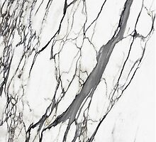 White marble iphone case by mikath