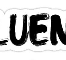 I speak fluent sarcasm, funny tee Sticker