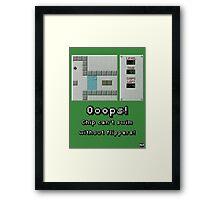 Chip's Challenge Framed Print