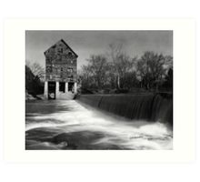 Browns Mill on the Stones River Art Print