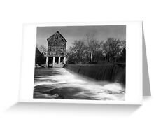 Browns Mill on the Stones River Greeting Card