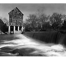 Browns Mill on the Stones River Photographic Print