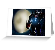Transformers (Optimus Prime) Greeting Card