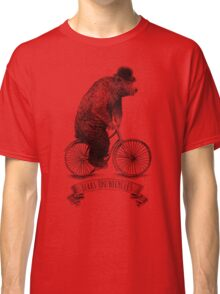 Bears on Bicycles (lime option) Classic T-Shirt
