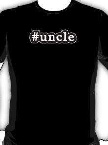 Uncle - Hashtag - Black & White T-Shirt