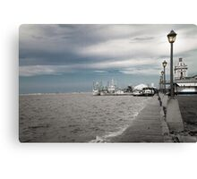 Port of Rio Grande (Brazil) Canvas Print