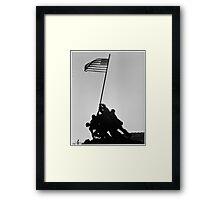 Iwo Jima Memorial in Arlington VA Framed Print