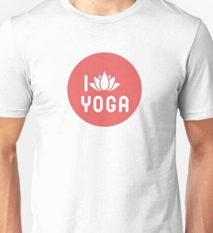 I Lotus Yoga Unisex T-Shirt