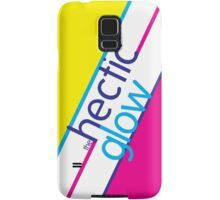 Hectic Glow Poster Samsung Galaxy Case/Skin