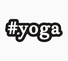 Yoga - Hashtag - Black & White Kids Clothes