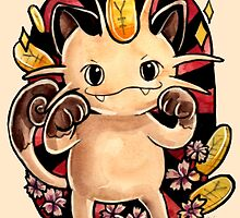 Meowth  by retkikosmos