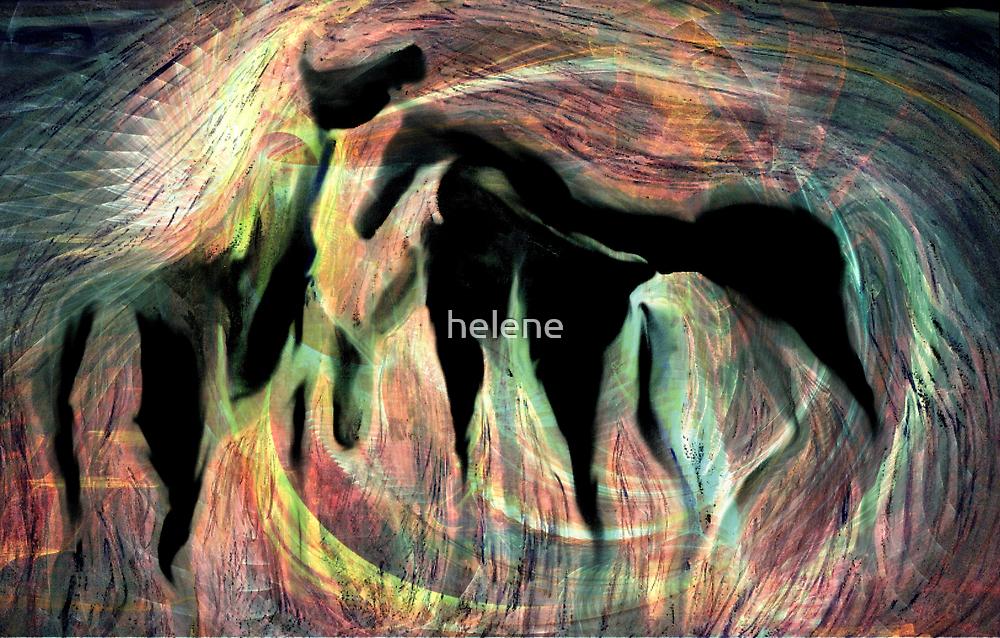 Horses 6 by helene