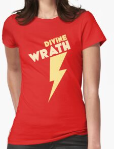 Divine Wrath Womens Fitted T-Shirt