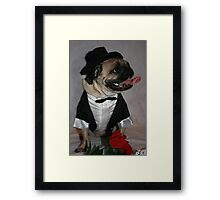 All Dressed Up And Nowhere To Go! Framed Print