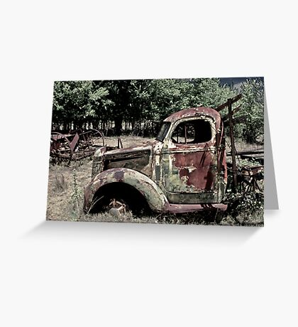 Road Decay Greeting Card
