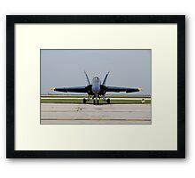 F18 Hornet Framed Print