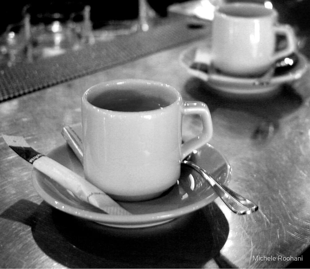 BLACK & white coffee by Michele Roohani
