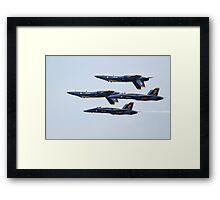 USN Blue Angels Framed Print