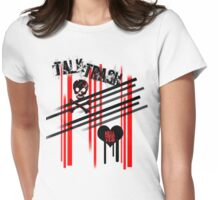 talk trash Womens Fitted T-Shirt
