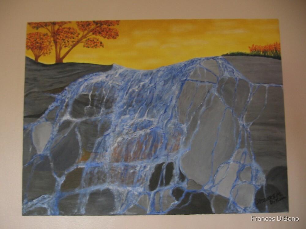 Waterfalling by Frances DiBono