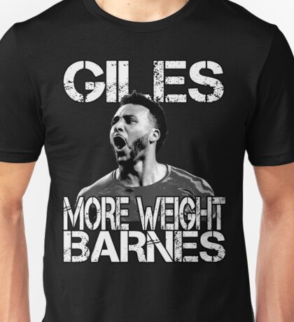 More Weight - Giles Barnes  Unisex T-Shirt