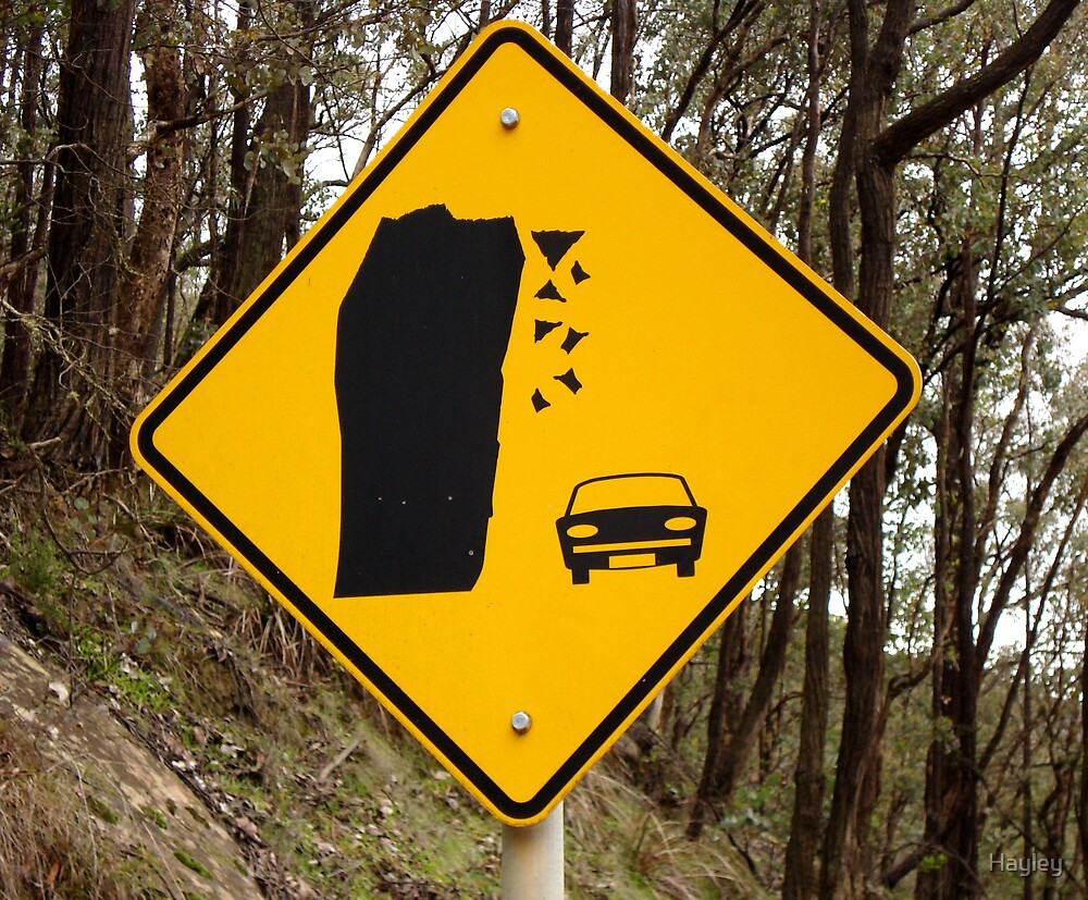 Comforting Road Signs by Hayley